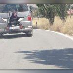 Bu Kadarı da Yeter: 13 Yaşındaki Çocuğu Arabanın Arkasına Bağlayan Baba Serbest Kaldı!