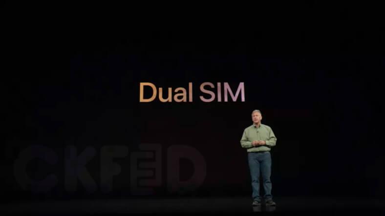 iPhone XS ve iPhone XS Max Çift SIM Desteği ile Gelecek!