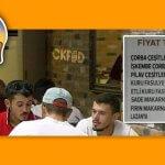 Sakarya'da Bir Lokantanın Menü Fiyatları Ülke Gündemine Oturdu!