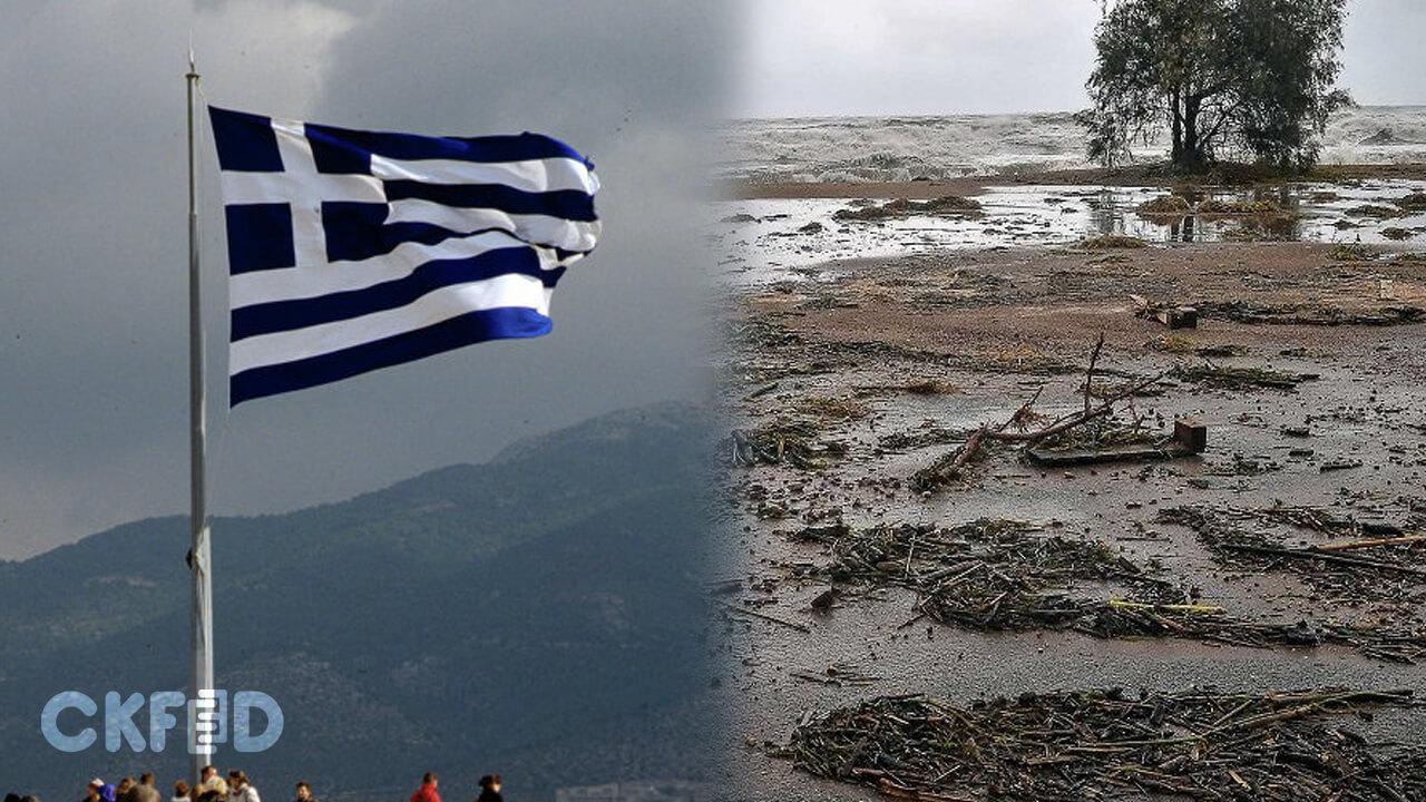 Yunanistan Tropik Fırtına ile Mücadele Ediyor: Üç Kişi Kayıp!