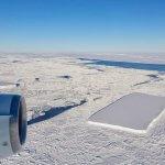 NASA'nın Antarktika'da Bulduğu Dikdörtgen Buz Dağları!