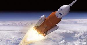 Dünya'dan Fırlatılan Bir Roket, Uzaydan Nasıl Görünüyor?