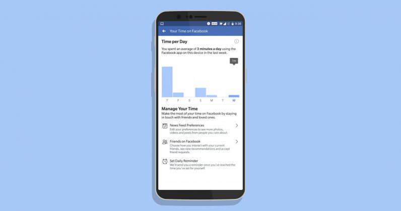 Facebook, Uygulamada Ne Kadar Süre Gezdiğinizi Artık Gösteriyor!