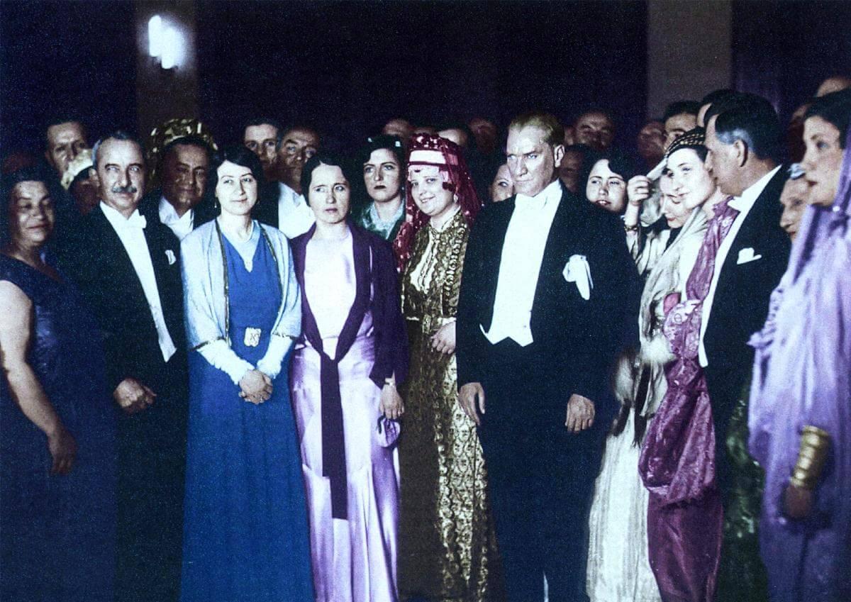 Mustafa Kemal Atatürk'ün Birbirinden Güzel Fotoğrafları