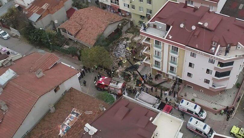 İstanbul'da Düşen Askeri Helikopter ve Detayları - CKFeed