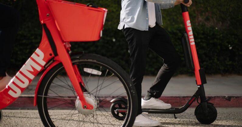 UBER, Sürücüsüz Scooter & Bisiklet Üzerinde Çalışıyor