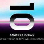 Samsung, 20 Şubat'ta Galaxy S10'u Resmen Tanıtacak