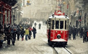 İstanbul'da Okullara Kar Tatili!