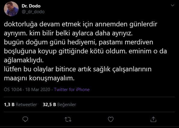 YouTube Fenomeni Dr. Dodo'nun Paylaşımı Gözleri Yaşarttı!