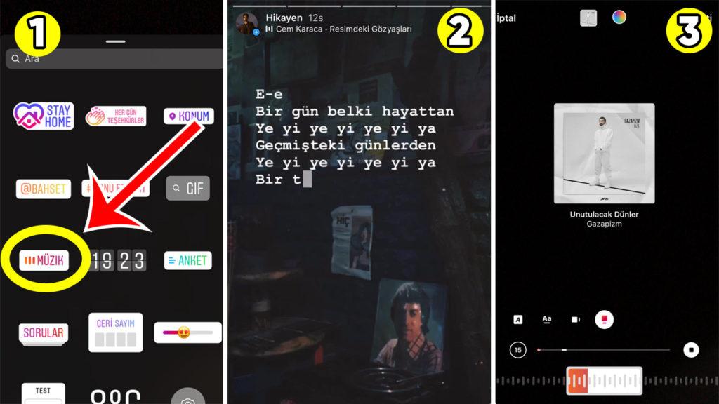 Instagram Müzik | Instagram Müzik Özelliği Türkiye'de!