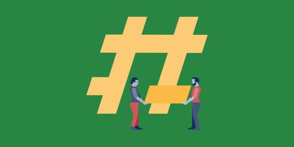Diyez/Hashtag/Etiket işareti | 5 Adımda Nasıl TikTok Fenomeni Olunur?