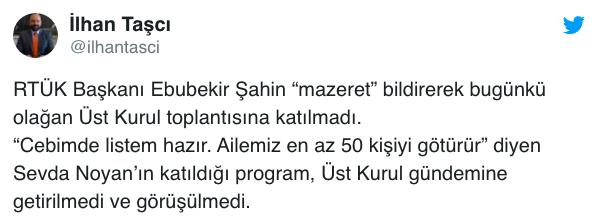 RTÜK'ten Sevda Noyan Açıklaması!