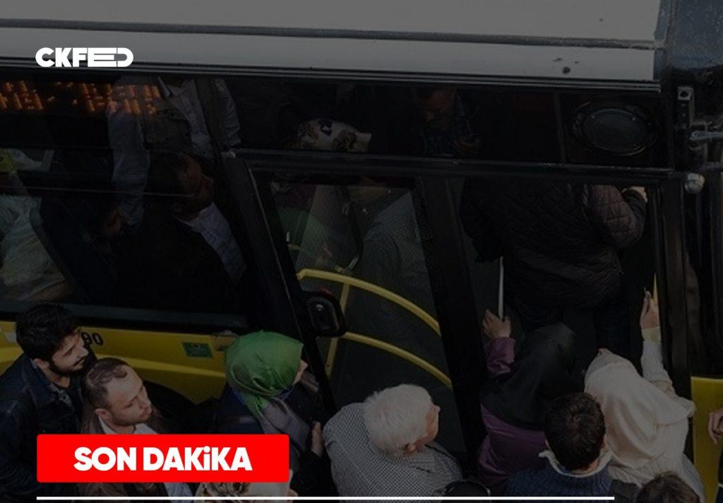 Son dakika: 2020 Toplu taşıma kısıtlaması kaldırıldı