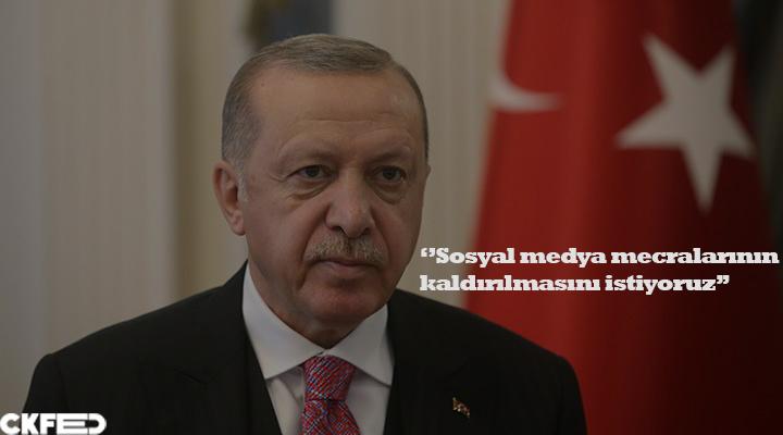 Son Dakika:Erdoğan sosyal medyanın kaldırılmasını istediğini duyurdu