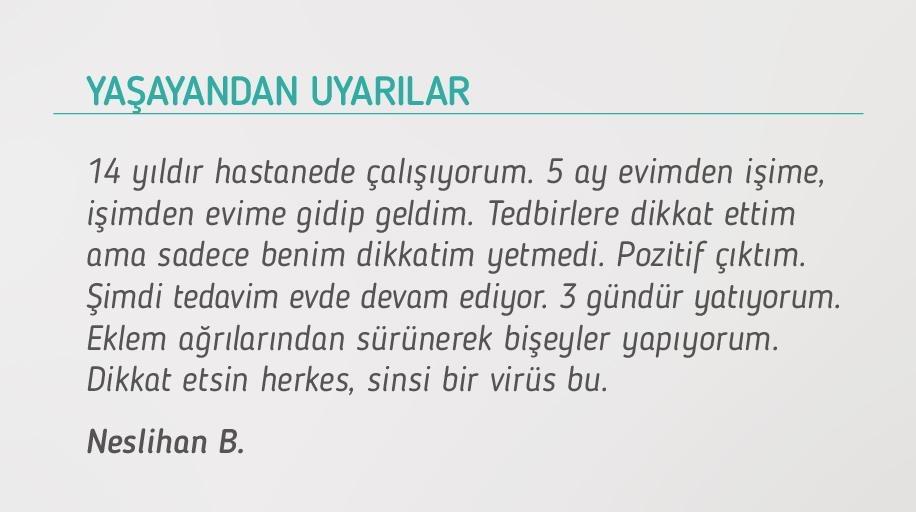 Neslihan Hanımın Koronavirüs Hikayesi - CKFeed Son Dakika Haberleri